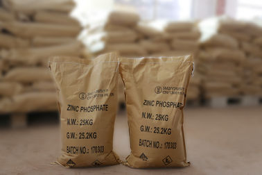 China Oil Based Paint Zinc Phosphate Powder CAS 7779-90-0 For Ship And Steel Structures Protect supplier