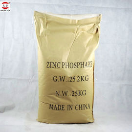 China Anti Corrosive Zinc Phosphate Powder White Paint Pigment Eco Friendly supplier
