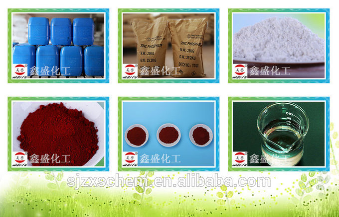 Professional Zinc Phosphate Pigment , Zinc Phosphating Chemicals Strong Anti Rust Ability